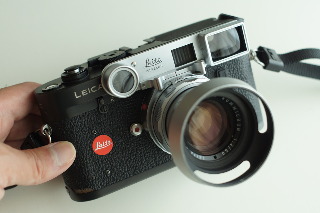 Leica M4-P and DR_Summicron 50mm F2