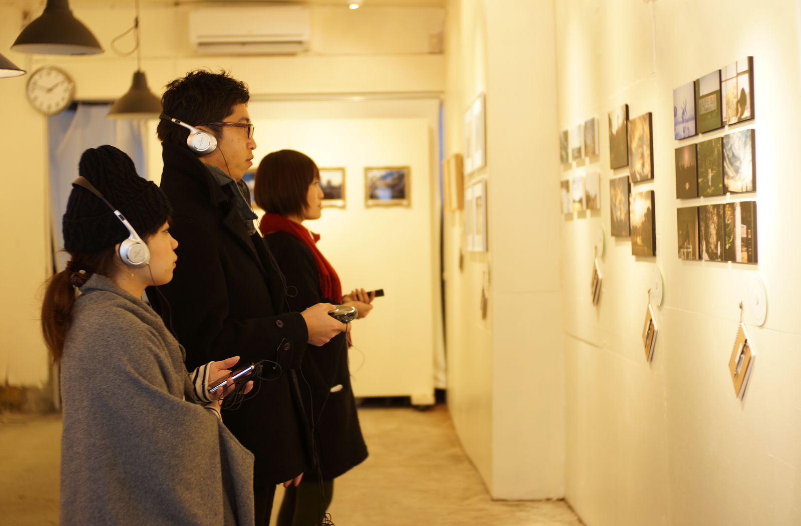 """ exhibition, sound of photography2 "" at Fotori creative art space for photography"