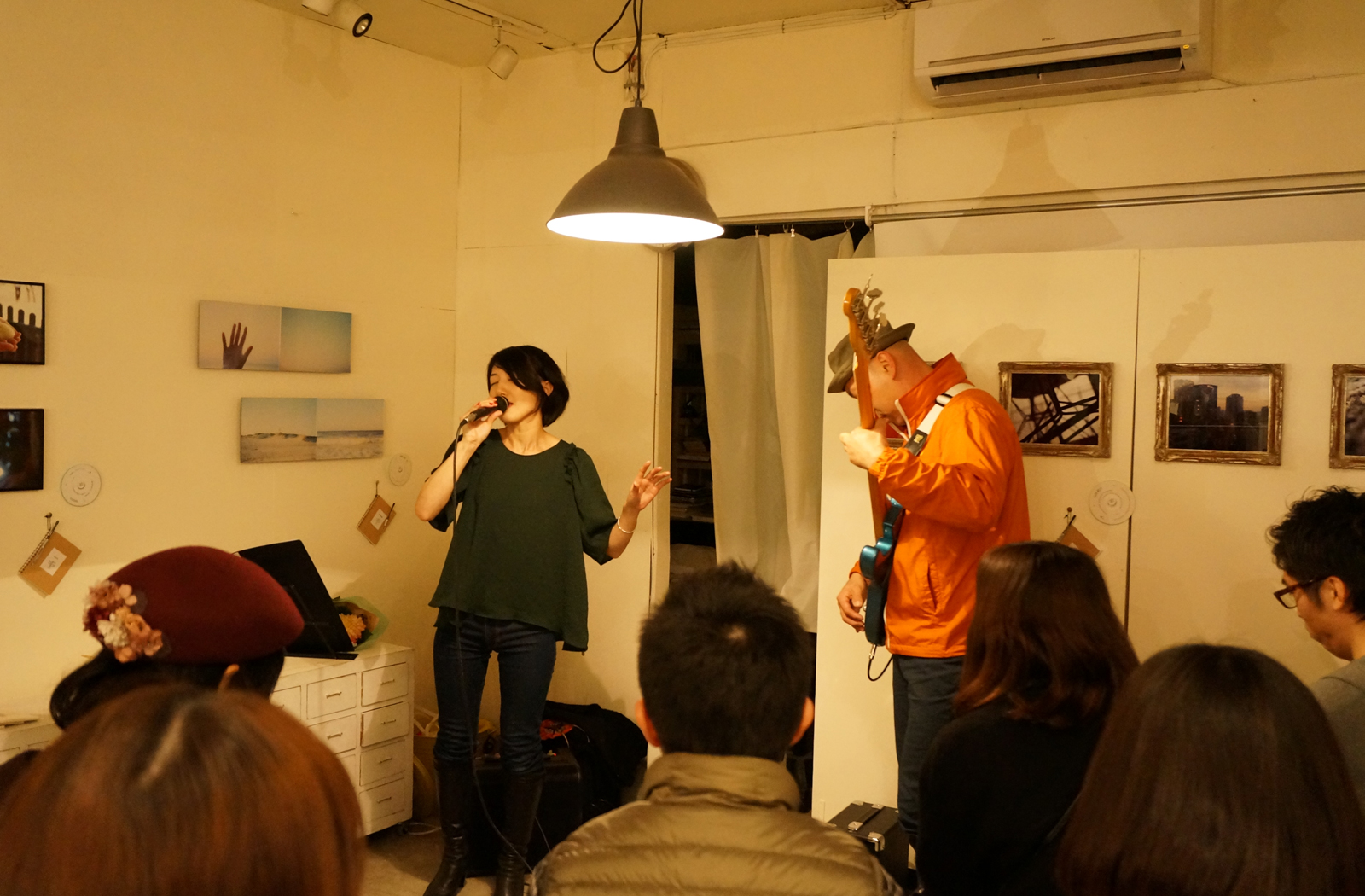 """ ingenue live , sound of photography2 "" at Fotori creative art space for photography"