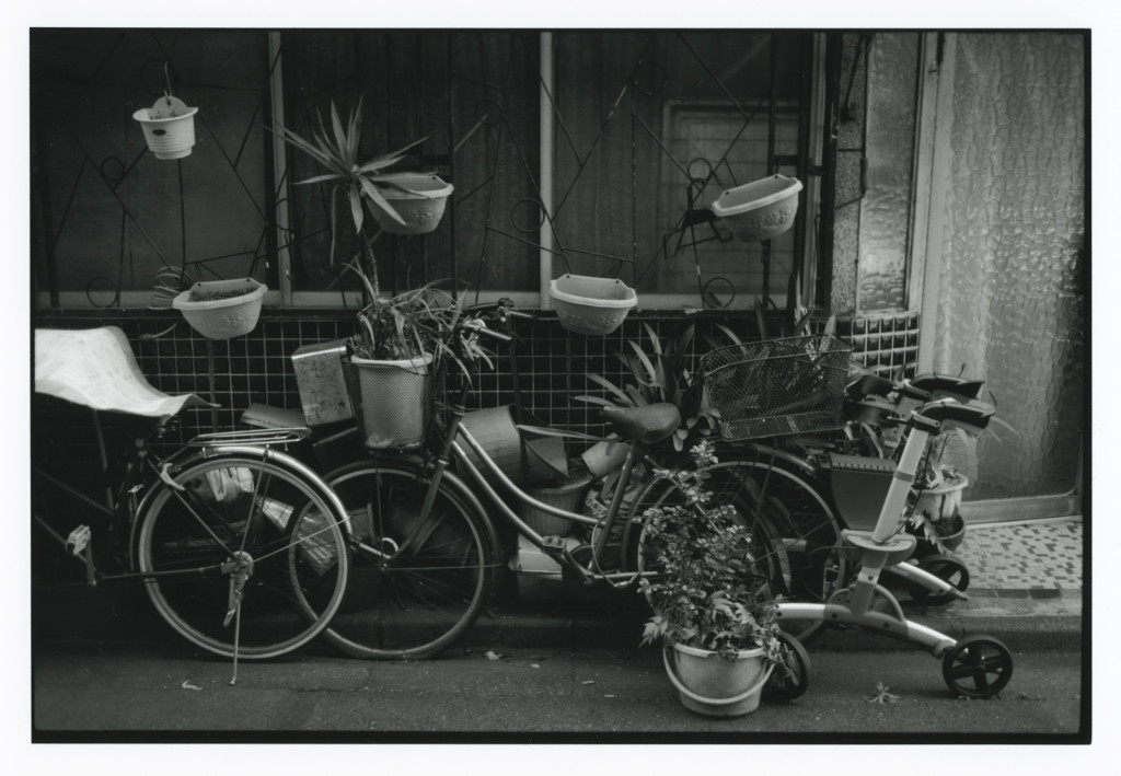 """ a off-street ""  Gotanda Tokyo /   Darkroom print enlarger: Fuji SD690+Leica Focotar 50mm F4.5 / film: Fuji Acros, paper: Ilford MG4RC8x10 / camera: Rollei35T 40mm F3.5"