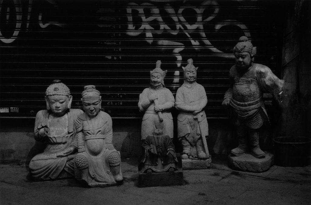 香港の仏像