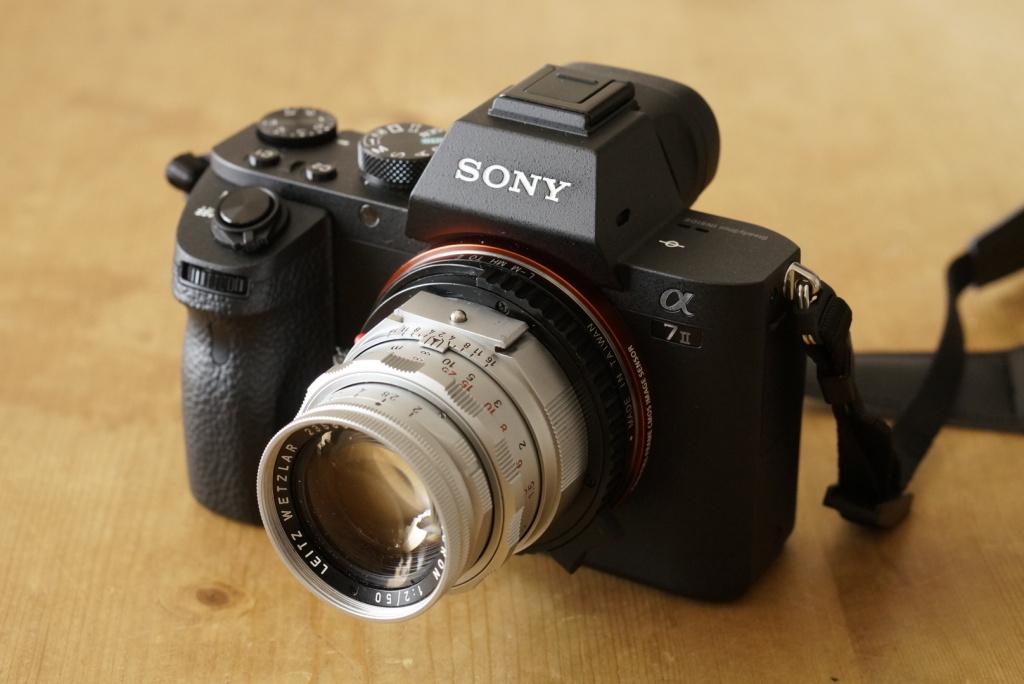 Sony A7 II ILCE-7M2 + Leica Leitz DR Summicron 50mm f2.0