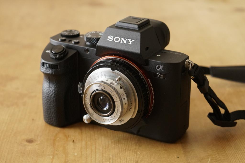 Sony A7 II ILCE-7M2 + Leica Leitz Elmar 3.5cm f3.5
